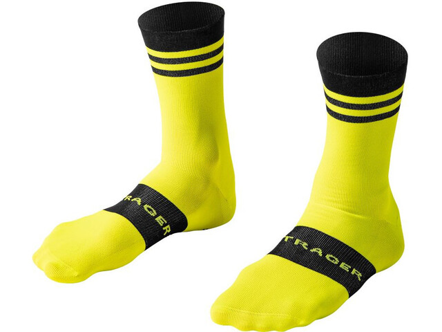 Bontrager Race Chaussettes Homme, radioactive yellow